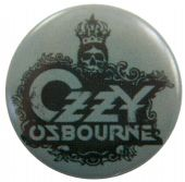 Ozzy Osbourne - 'Skull Logo' Button Badge